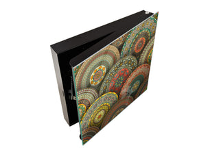 Wall Mount Key Box together K12 Vintage mandala