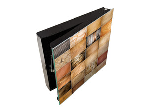 50 Key lock Box storage holder K10 Collection of wood