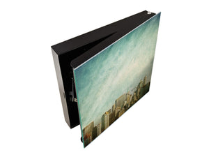 Wall Mount Key Box Together K08 New York Skyline