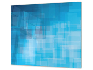 Tempered GLASS Kitchen Board – Impact & Scratch Resistant D10B Textures Series B: Texture 15