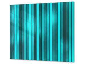 Tempered GLASS Cutting Board D01 Abstract Series: Texture 53