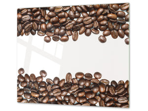 KITCHEN BOARD & Induction Cooktop Cover D05 Coffee Series: Coffee 118