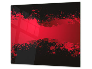 Tempered GLASS Cutting Board D01 Abstract Series: Abstract Art 49