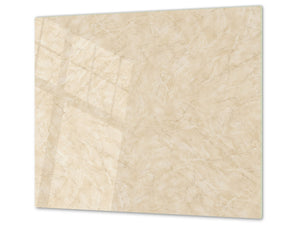 Tempered GLASS Kitchen Board – Impact & Scratch Resistant D10B Textures Series B: Texture 41