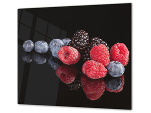KITCHEN BOARD & Induction Cooktop Cover  D07 Fruits and vegetables: Fruits 4