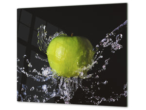 KITCHEN BOARD & Induction Cooktop Cover  D07 Fruits and vegetables: Apple 8