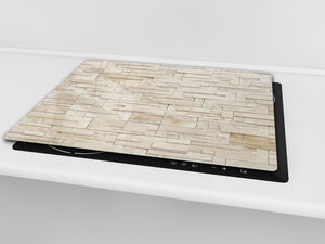 Tempered GLASS Kitchen Board – Impact & Scratch Resistant D10B Textures Series B: Stone 2
