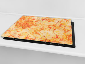 Tempered GLASS Kitchen Board D09 Other: Texture 105