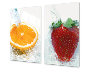 KITCHEN BOARD & Induction Cooktop Cover  D07 Fruits and vegetables: Fruits 11