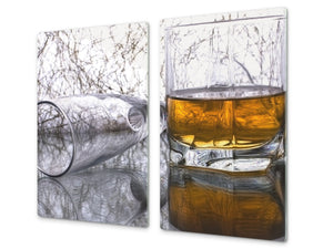 Chopping Board - Induction Cooktop Cover D04 Drinks Series: Drink 6
