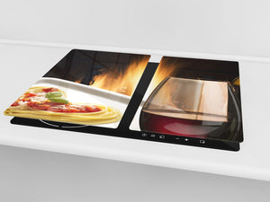 Chopping Board - Induction Cooktop Cover D04 Drinks Series: wine 13