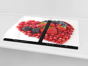 KITCHEN BOARD & Induction Cooktop Cover  D07 Fruits and vegetables: Fruit 25