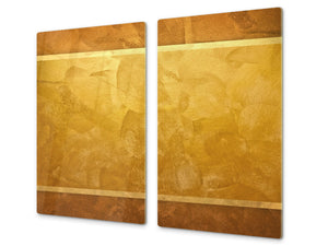Tempered GLASS Kitchen Board – Impact & Scratch Resistant D10B Textures Series B: Texture 135