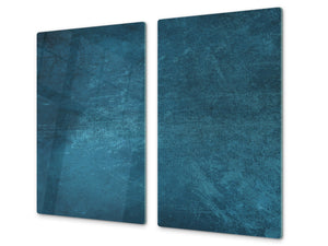 Tempered GLASS Kitchen Board – Impact & Scratch Resistant D10A Textures Series A: Texture 91