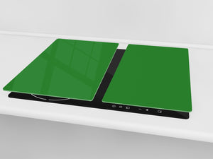 Tempered GLASS Kitchen Board D18 Series of colors: Green