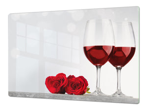 BIG KITCHEN PROTECTION BOARD or Induction Cooktop Cover - Wine Series DD04 I love wine 2