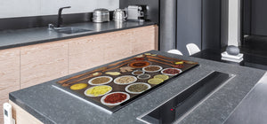 Cutting Board and Worktop Saver – SPLASHBACKS: A spice series DD03B Indian spices 5