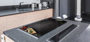 BIG KITCHEN PROTECTION BOARD or Induction Cooktop Cover - Wine Series DD04 French wine 2