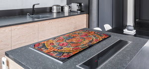 Worktop saver and Pastry Board – Cooktop saver; Series: Outside Series DD19 Colorful signs