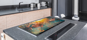 Very Big Cooktop saver - Nature series DD08 Blooming orchard