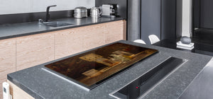 Induction Cooktop Cover – Glass Worktop saver: Fantasy and fairy-tale series DD18 Laboratory