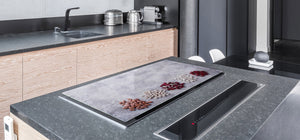 UNIQUE Tempered GLASS Kitchen Board Fruit and Vegetables series DD02 Beans 1