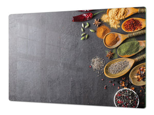 Cutting Board and Worktop Saver – SPLASHBACKS: A spice series DD03B Asian spices 3