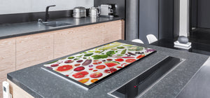 UNIQUE Tempered GLASS Kitchen Board Fruit and Vegetables series DD02 Fruit and vegetables 5