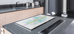 GIGANTIC CUTTING BOARD and Cooktop Cover - Expressions Series DD17 Inscription 2