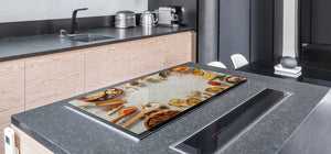 Cutting Board and Worktop Saver – SPLASHBACKS: A spice series DD03B Colorful spices 2