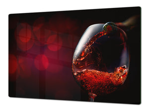 BIG KITCHEN PROTECTION BOARD or Induction Cooktop Cover - Wine Series DD04 Red wine 7