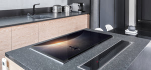 Induction Cooktop Cover – Glass Worktop saver: Fantasy and fairy-tale series DD18 Swing in cosmos