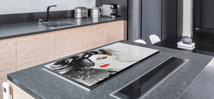 Impact & Shatter Resistant Worktop saver- Image Series DD05B Woman 11