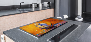 Impact & Shatter Resistant Worktop saver- Image Series DD05B Ship at sea 2