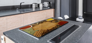 HUGE TEMPERED GLASS COOKTOP COVER A spice series DD03A Root spices 1