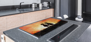 Induction Cooktop Cover – Glass Worktop saver: Fantasy and fairy-tale series DD18 Go together 2