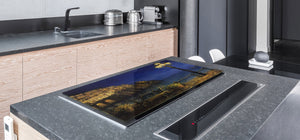 GIGANTIC CUTTING BOARD and Cooktop Cover- Image Series DD05A Evening in the bay