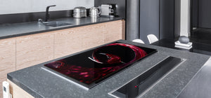 BIG KITCHEN PROTECTION BOARD or Induction Cooktop Cover - Wine Series DD04 Red wine 1