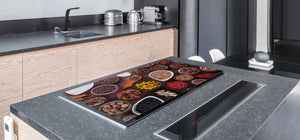 HUGE TEMPERED GLASS COOKTOP COVER A spice series DD03A Spices. 5