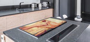 Induction Cooktop Cover – Glass Worktop saver: Fantasy and fairy-tale series DD18 Inspired