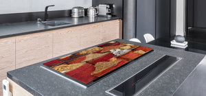 HUGE TEMPERED GLASS COOKTOP COVER A spice series DD03A Turkish spices 1