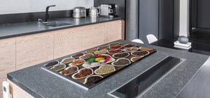HUGE TEMPERED GLASS COOKTOP COVER A spice series DD03A Spices from the heart