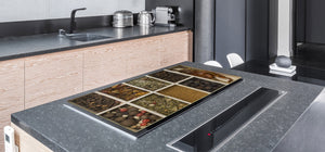 HUGE TEMPERED GLASS COOKTOP COVER A spice series DD03A Dried beans