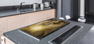 Induction Cooktop Cover – Glass Worktop saver: Fantasy and fairy-tale series DD18 Wander your thoughts