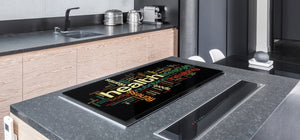 GIGANTIC CUTTING BOARD and Cooktop Cover - Expressions Series DD17 Inscription 4