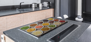 UNIQUE Tempered GLASS Kitchen Board Fruit and Vegetables series DD02 Delicacies 1