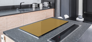 Gigantic Protection panel & Induction Cooktop Cover – Colours Series DD22B Light Brown