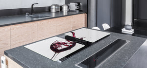 BIG KITCHEN PROTECTION BOARD or Induction Cooktop Cover - Wine Series DD04 Red wine 3
