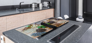 Cutting Board and Worktop Saver – SPLASHBACKS: A spice series DD03B Spices 7
