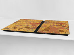 Worktop saver and Pastry Board – Cooktop saver; Series: Outside Series DD19 Microscopic bacteria